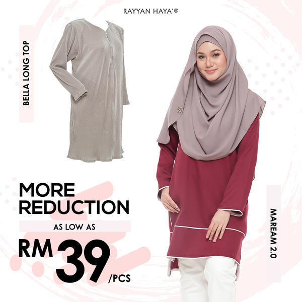 Bella Long Top (Grey)