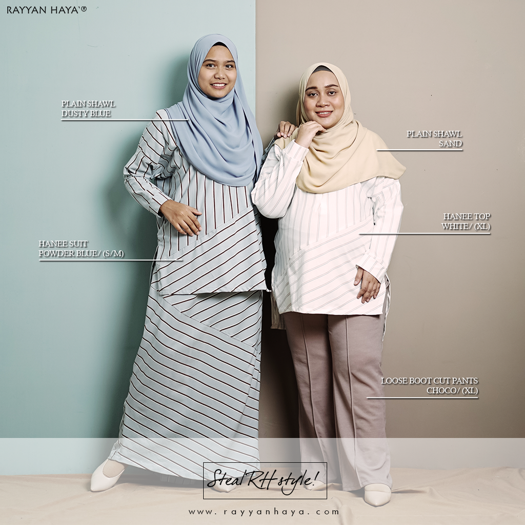 Hanee Top (Powder Blue)