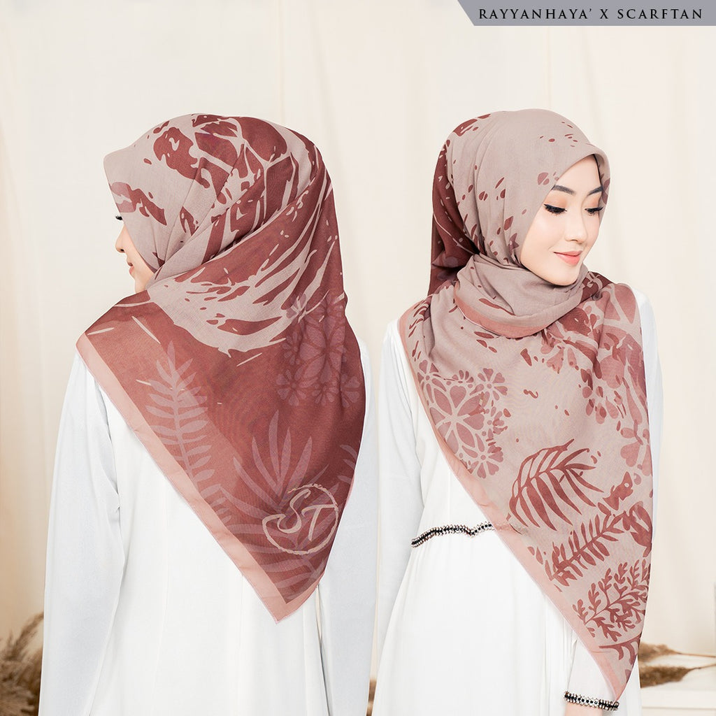 READY STOCK Bawal Felora 130cm (Brown)