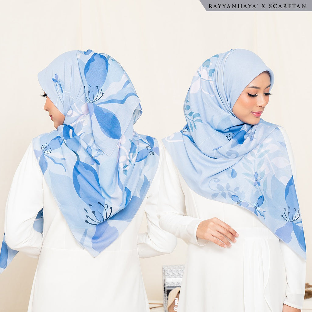 READY STOCK Bawal Naura 130cm (Blue)
