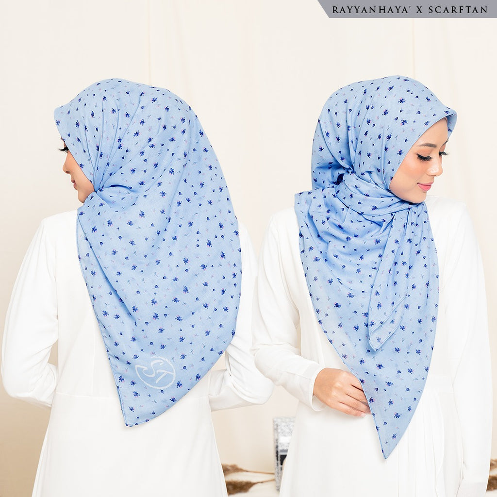 READY STOCK Bawal Meira 130cm (Sky Blue)