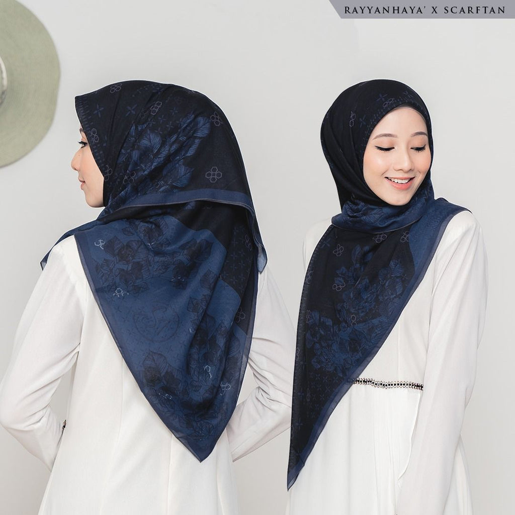 READY STOCK Bawal Laura 120cm (Midnight Blue)