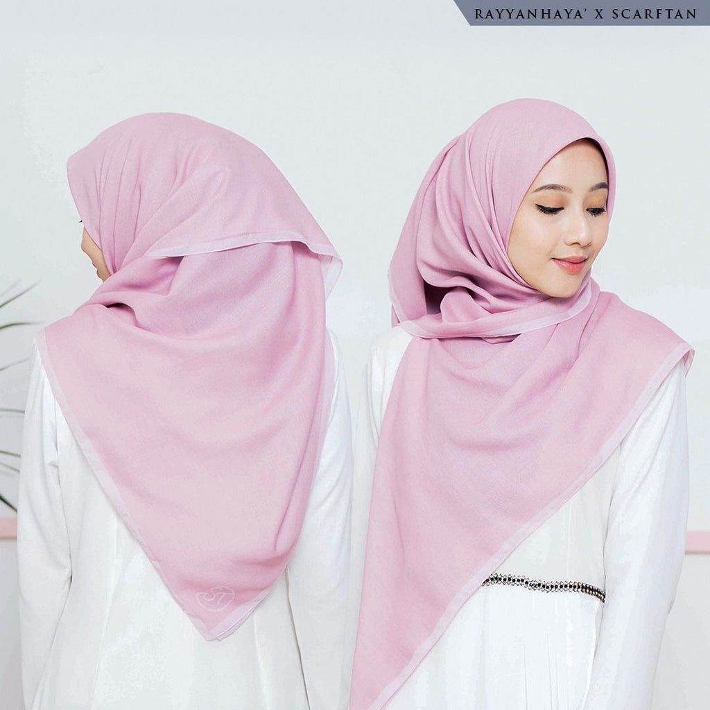 READY STOCK Bawal Border 130cm (Pink)