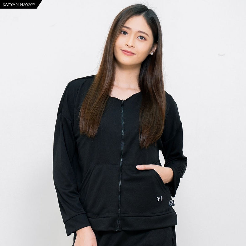 Track Top Kool Fit (Black)