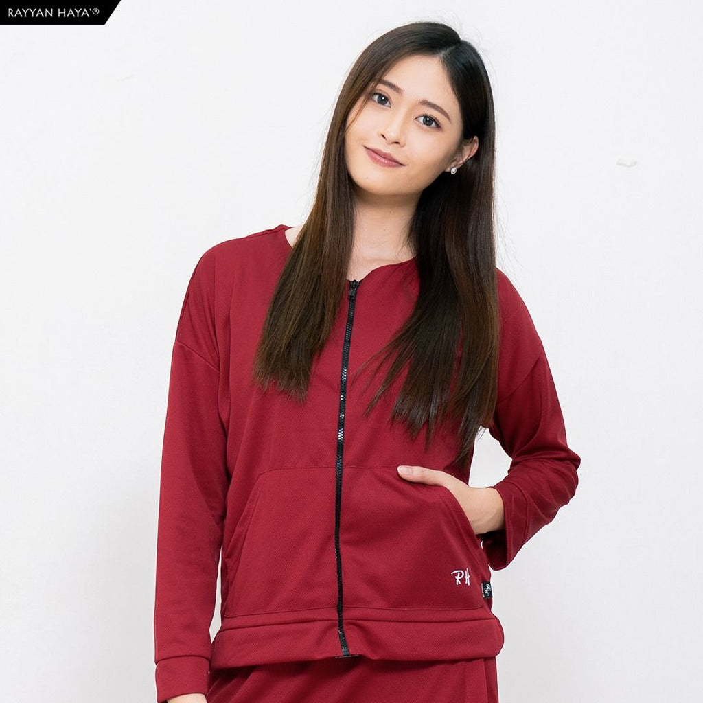 Track Top Kool Fit (Maroon)