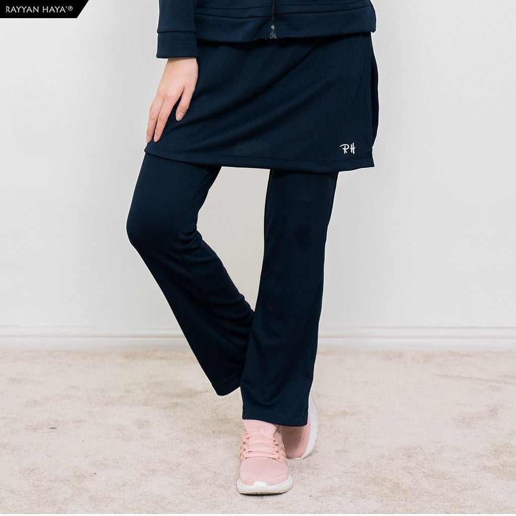Skirt Pants Kool Fit (Navy Blue)