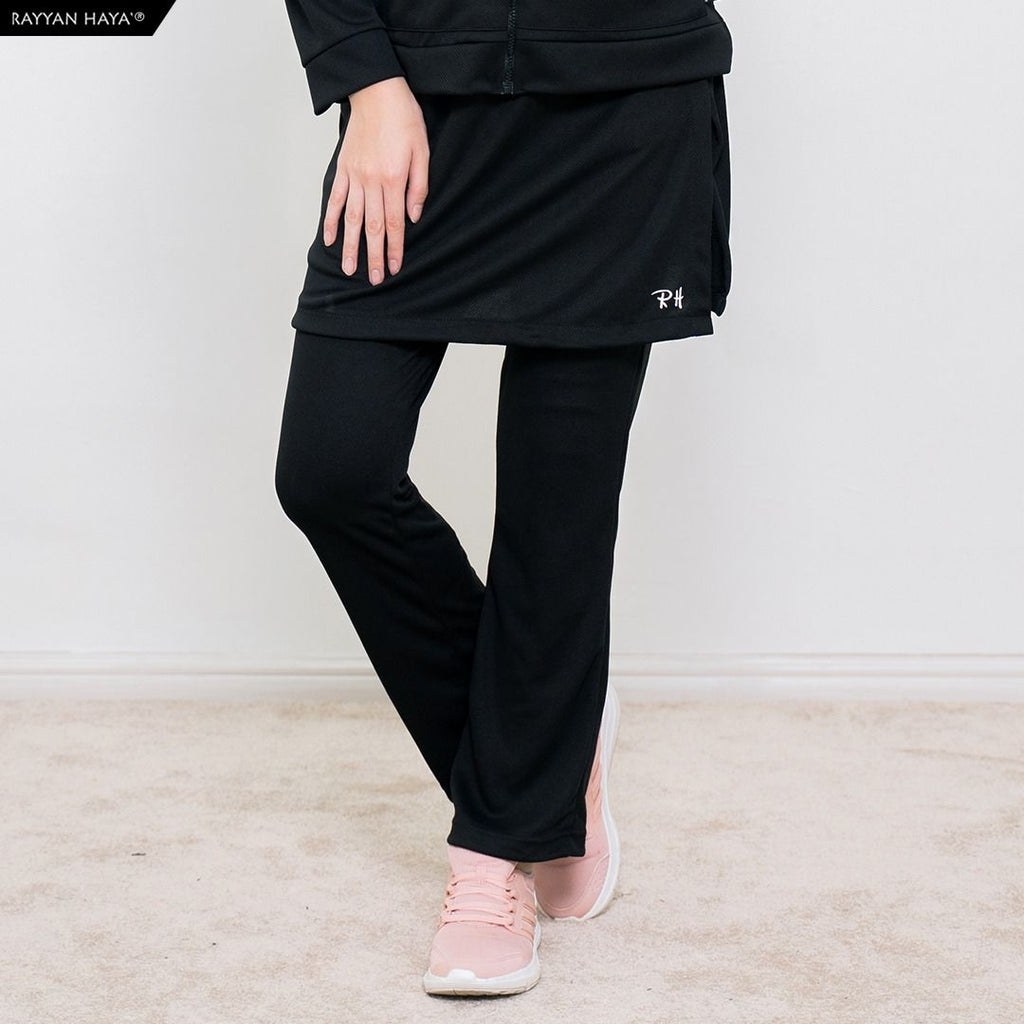 Skirt Pants Kool Fit (Black)