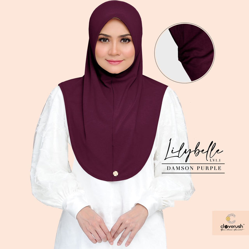 Lilybelle Collection by Cloverush (Damson Purple)
