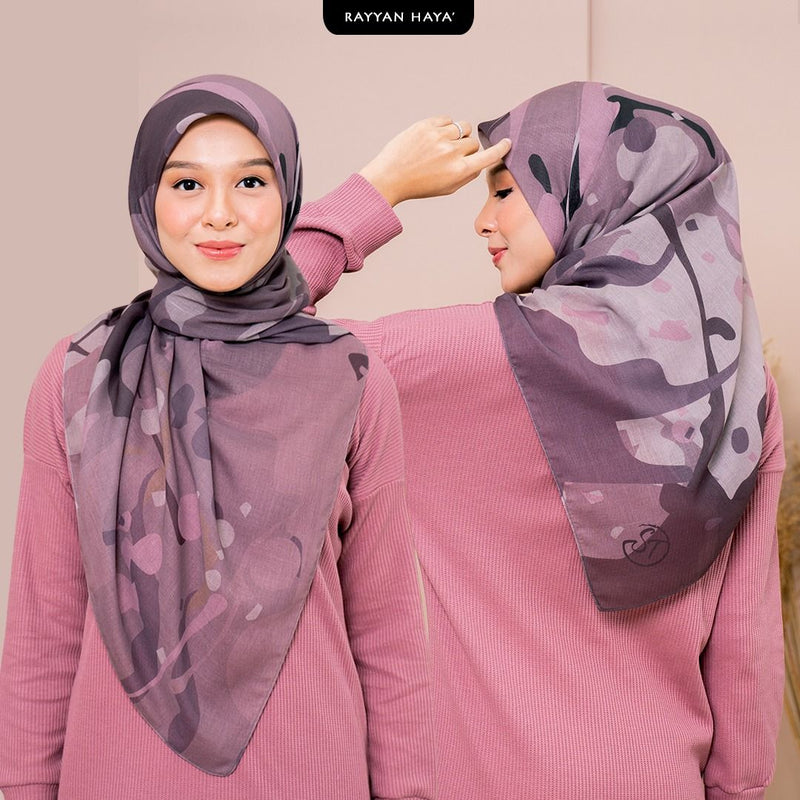 DEFECT Bawal Ratu 125cm (Muted Rose)