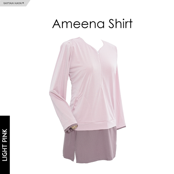 Ameena Shirt (Light Pink)