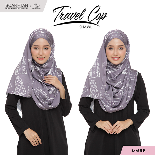 Travel Chop Shawl (Maule)