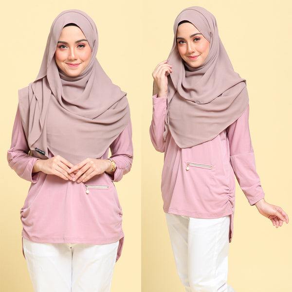 Mia Shirt (Dusty Pink)