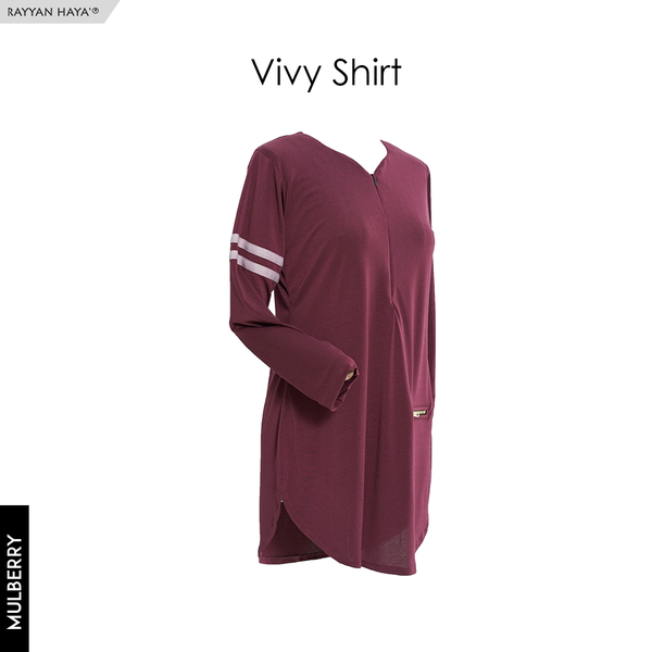 Vivy Shirt (Mulberry)