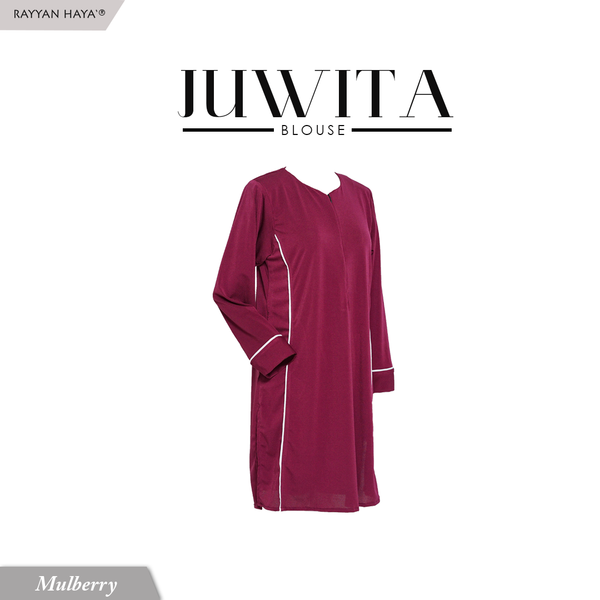 Juwita Blouse (Mulberry)