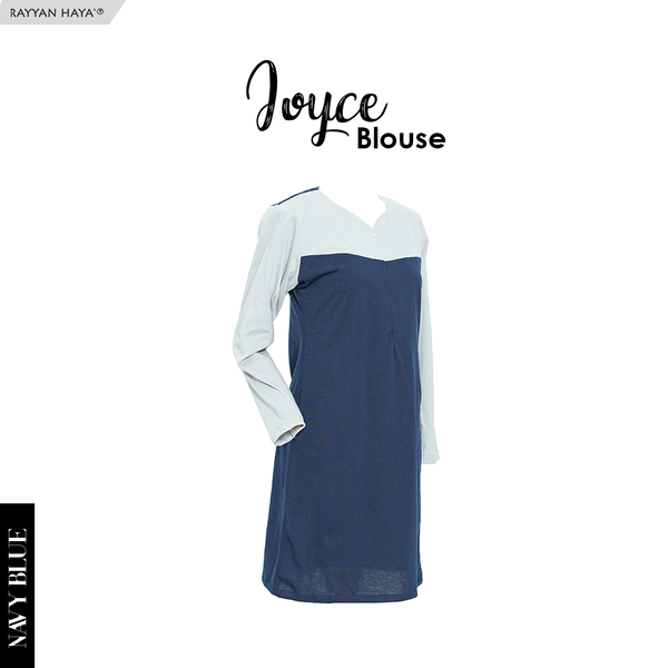 Joyce Blouse (Navy Blue)