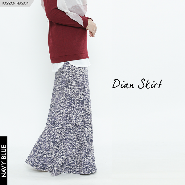 Dian Skirt (Navy Blue)