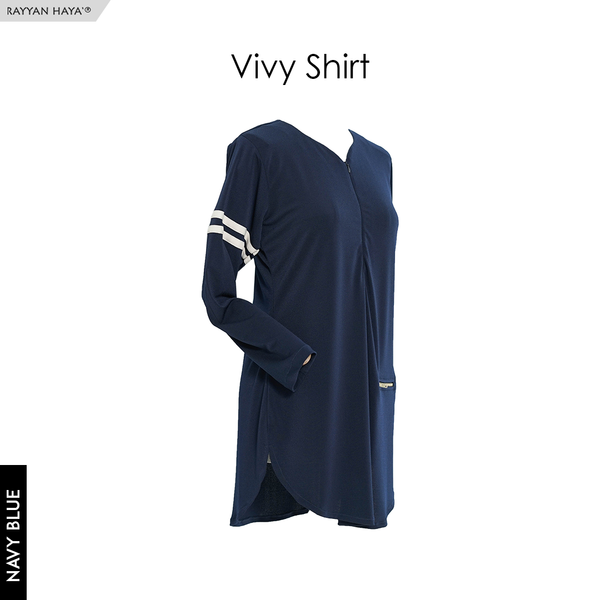 Vivy Shirt (Navy Blue)