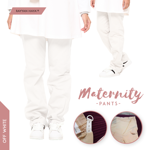 Maternity Pants (Off White)