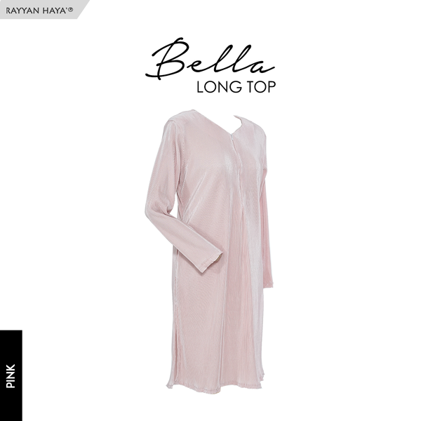 Bella Long Top (Pink)