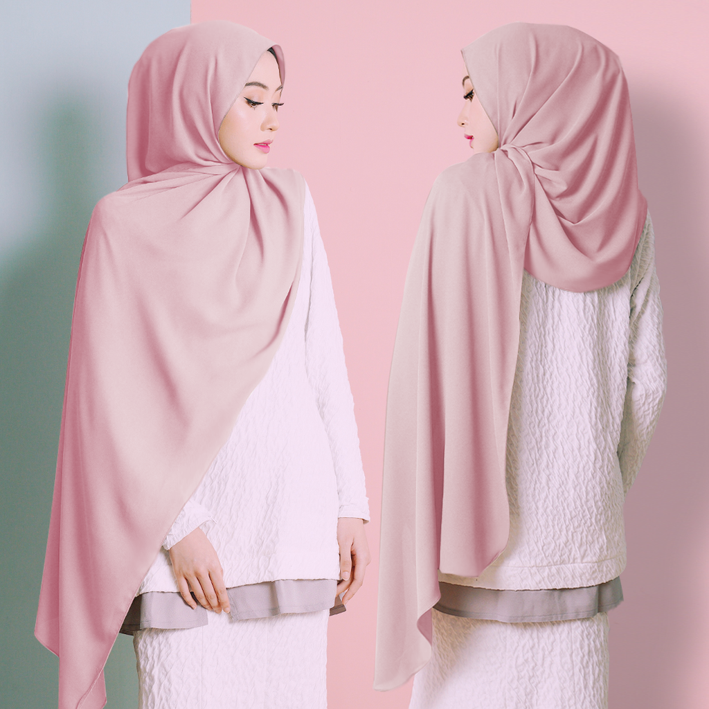 Plain Shawl (Pink)