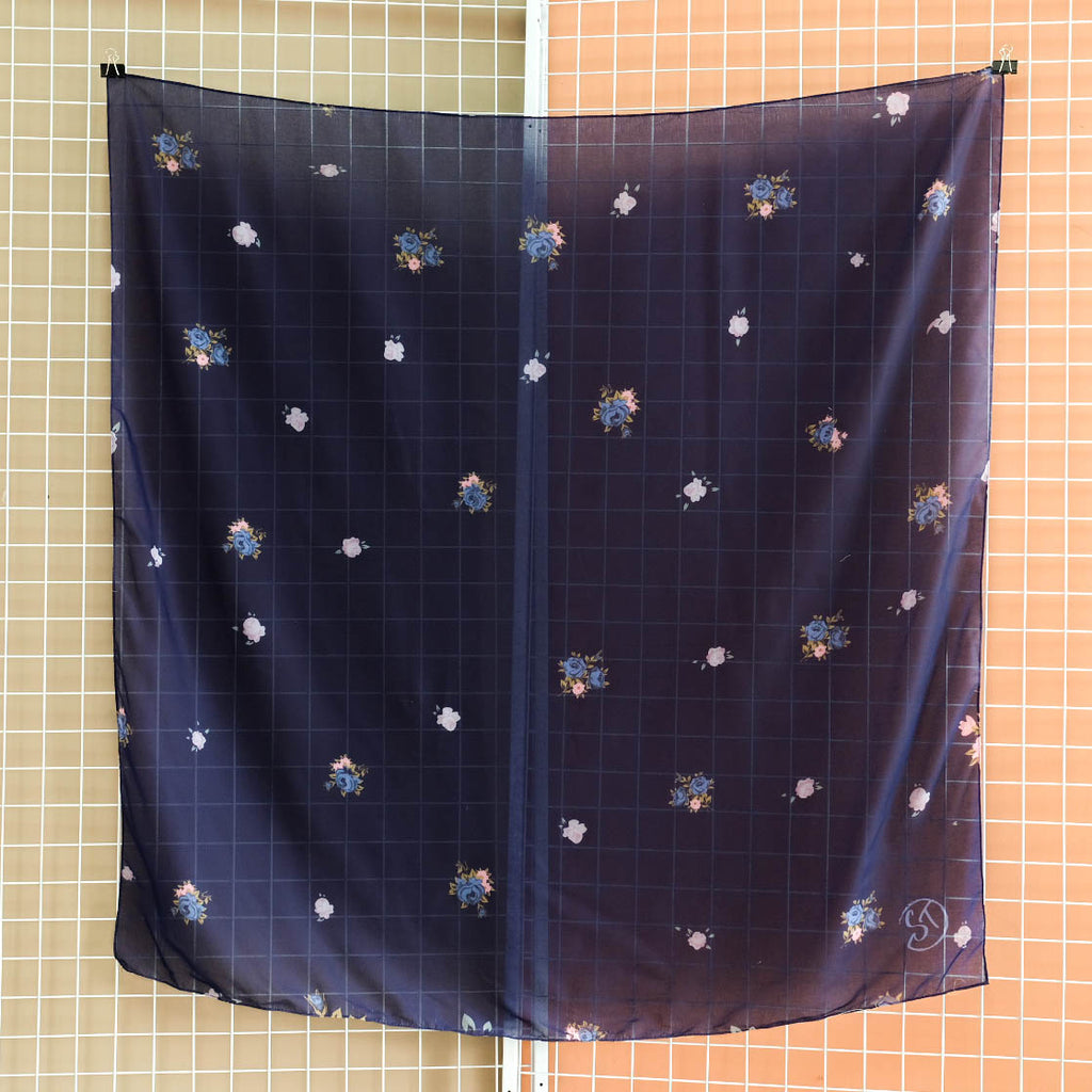 Bawal Vintage 130cm (Midnight Blue)