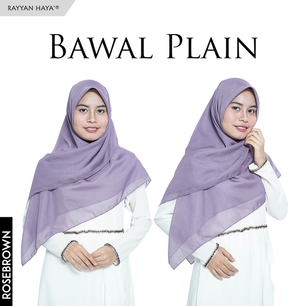 Bawal Plain (Rosybrown)