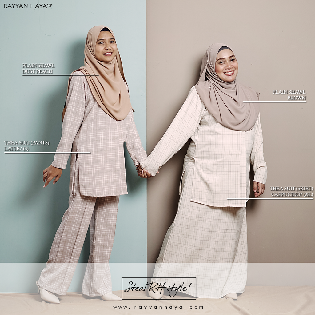 Thea Suit Skirt (Grey)
