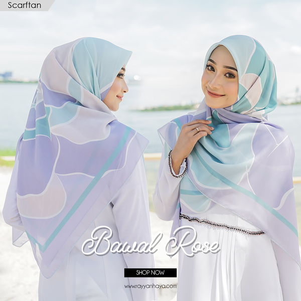 Bawal Rose 50' (Turquoise) PRE ORDER