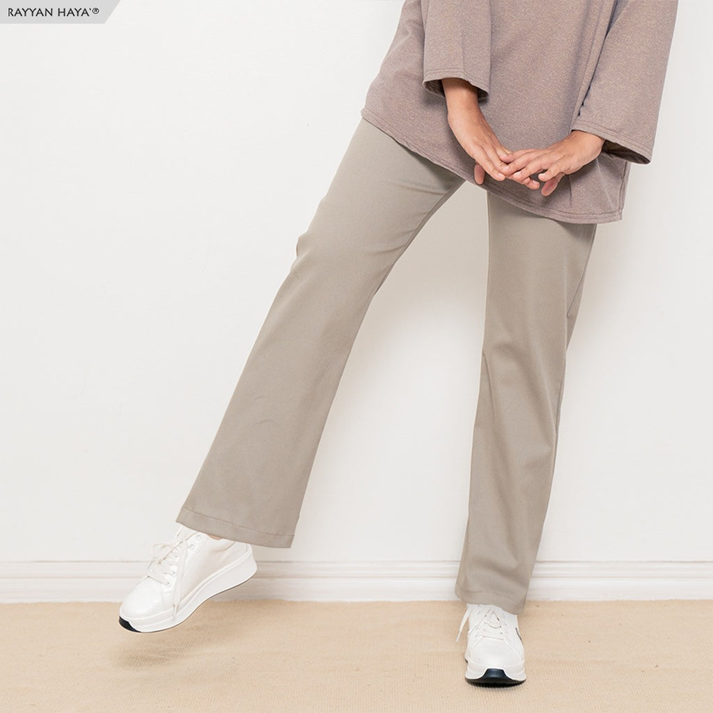 Ankle Loose Pants (Khaki)