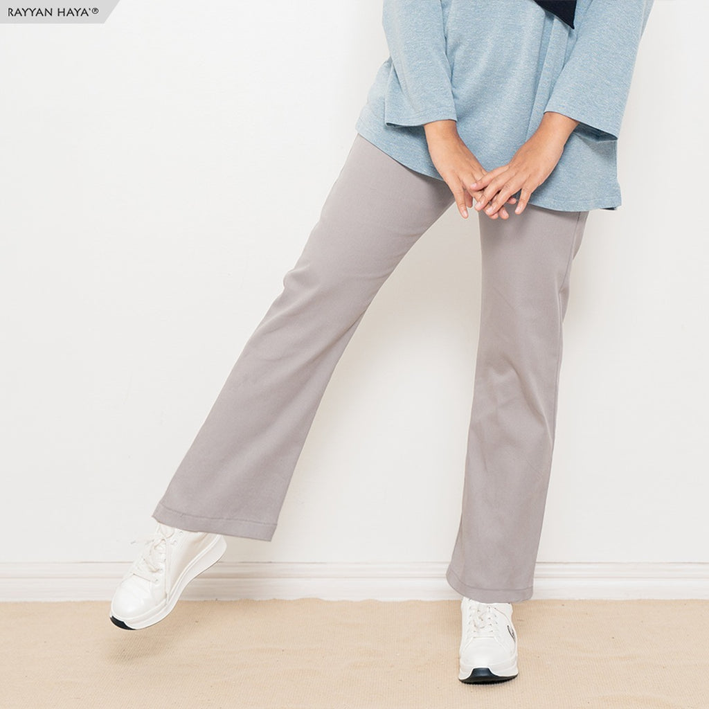 Ankle Loose Pants (Silver)