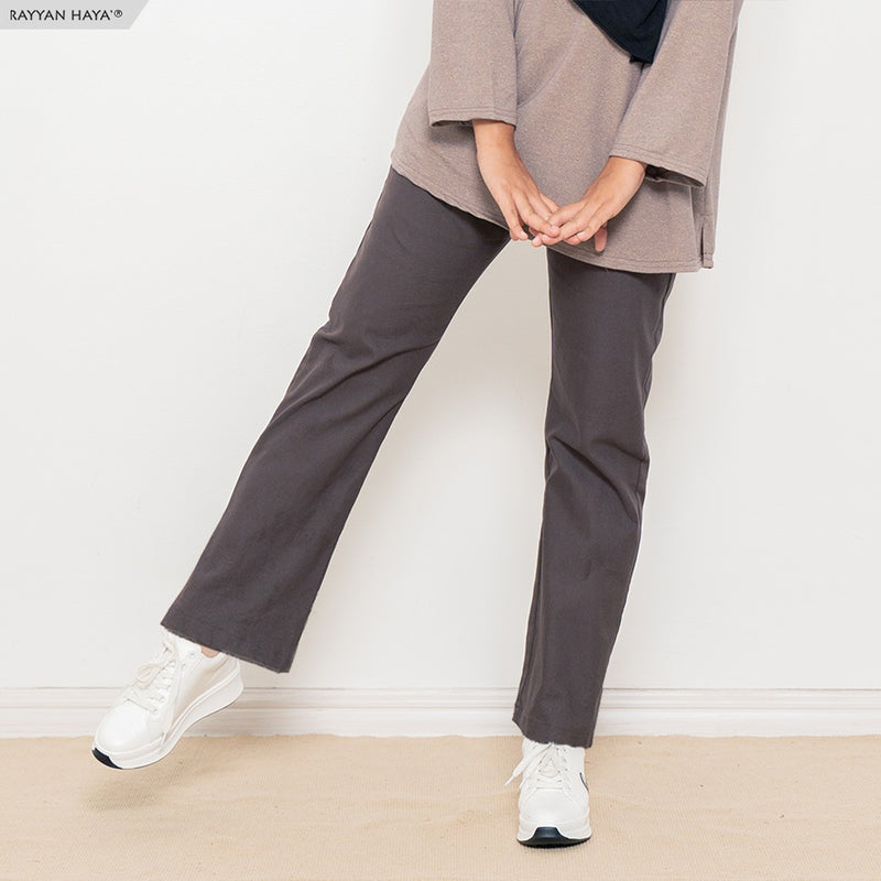 Ankle Loose Pants (Dark Brown)