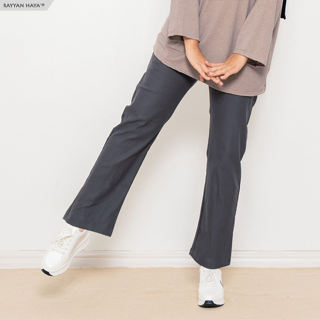 Ankle Loose Pants (Black)