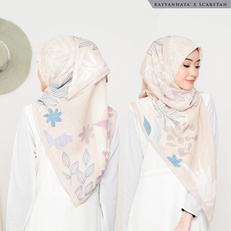 PRE ORDER Bawal Alana 130cm (Light Grayish Orange)