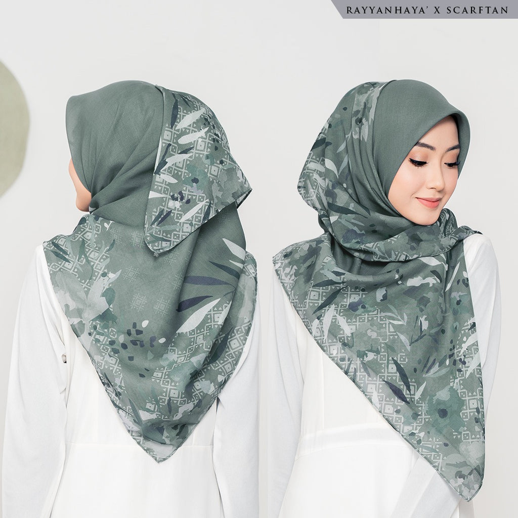 READY STOCK Bawal Emmarie 130cm (Olive)