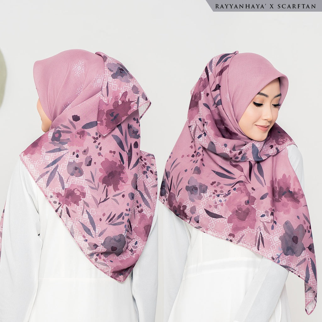 READY STOCK Bawal Emmarie 130cm (Rose)