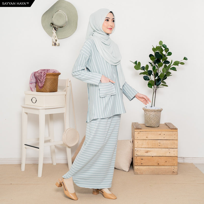 Safiya Suit (Baby Blue)