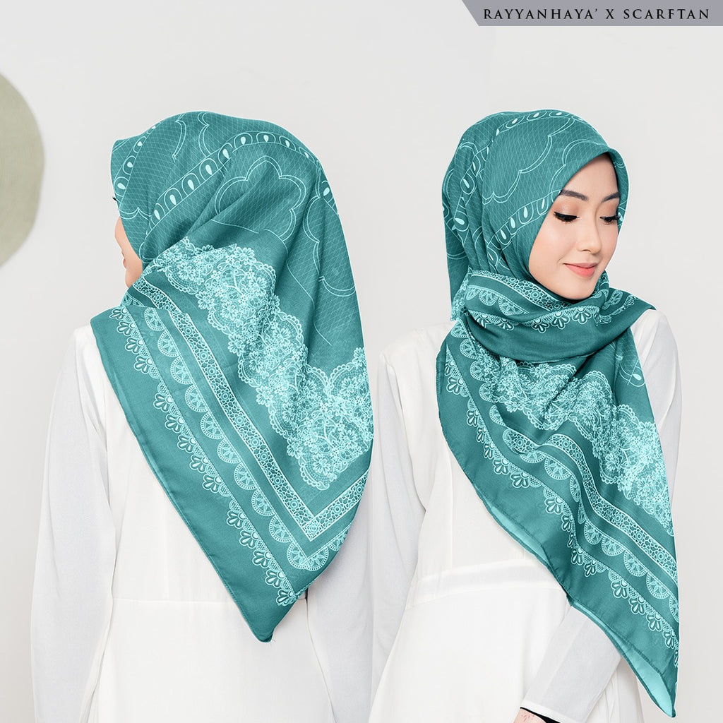 READY STOCK Bawal Lacey 130cm (Forest)