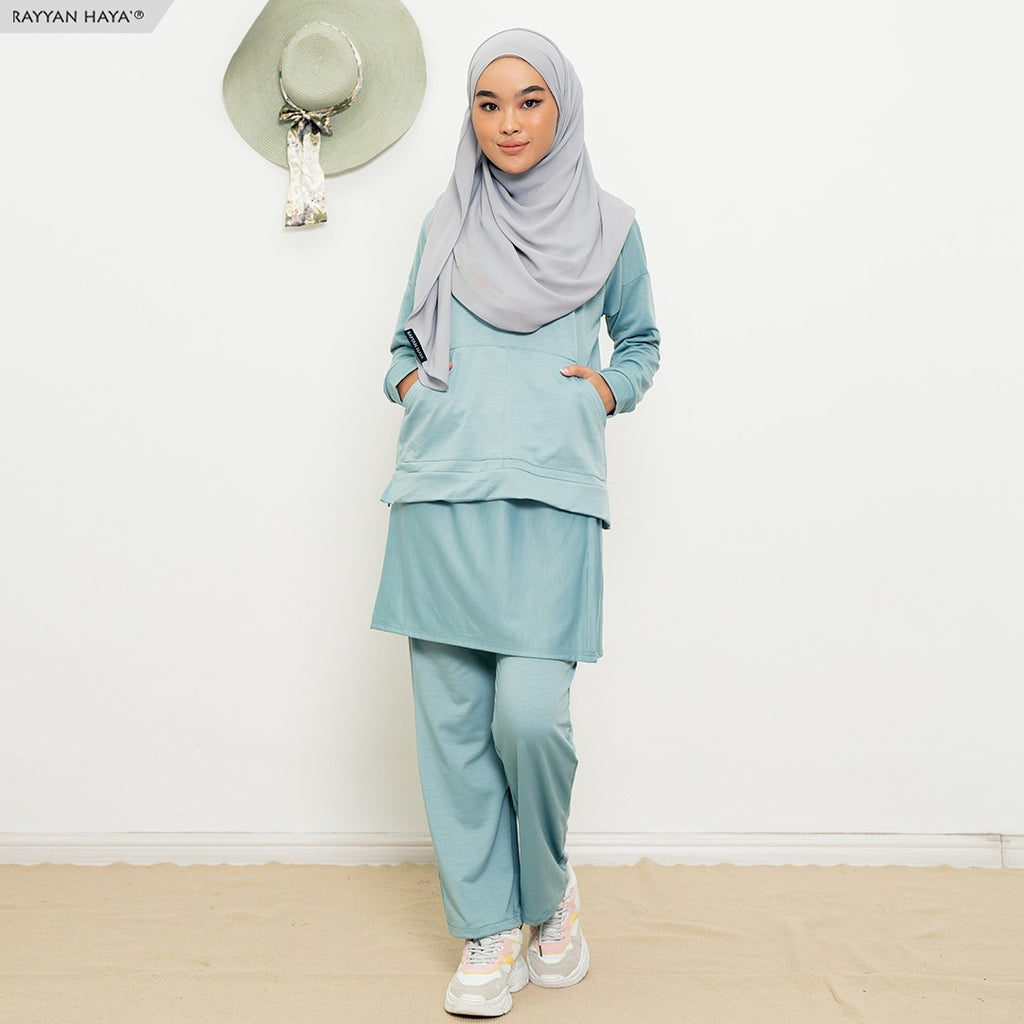 Skirt Pants Set 9.0 (Sea Green)
