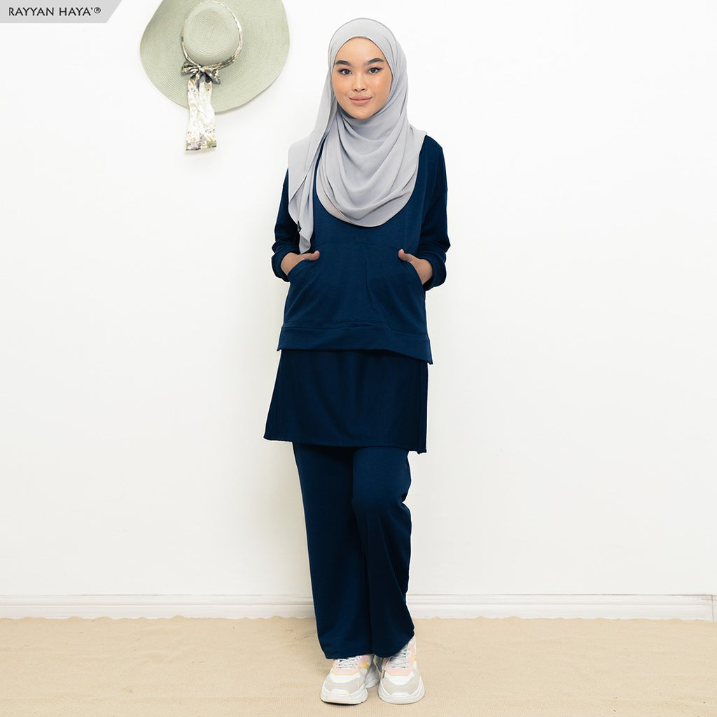 Skirt Pants Set 9.0 (Navy Blue)