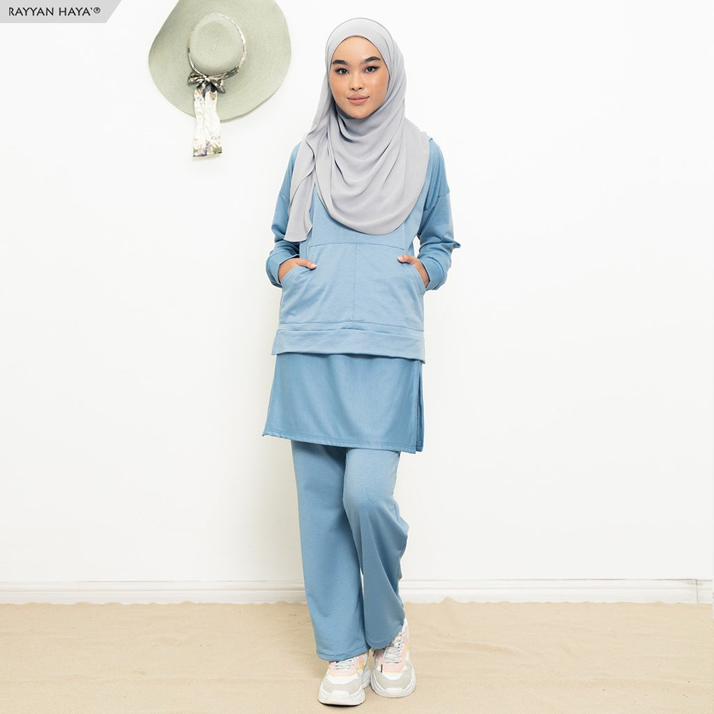 Skirt Pants Set 9.0 (Sky Blue)