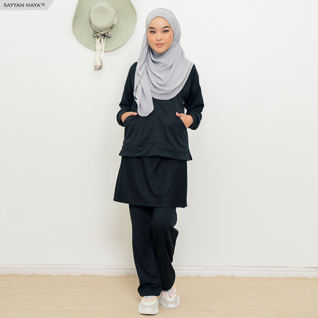 Skirt Pants Set 9.0 (Black)