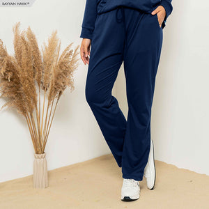 Sweat Loose Pants (Navy Blue)