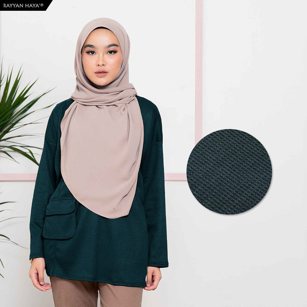Mylia Top (Emerald Green)