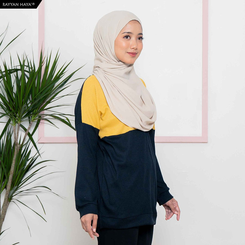 Dalia Sweatshirt (Yellow Black)