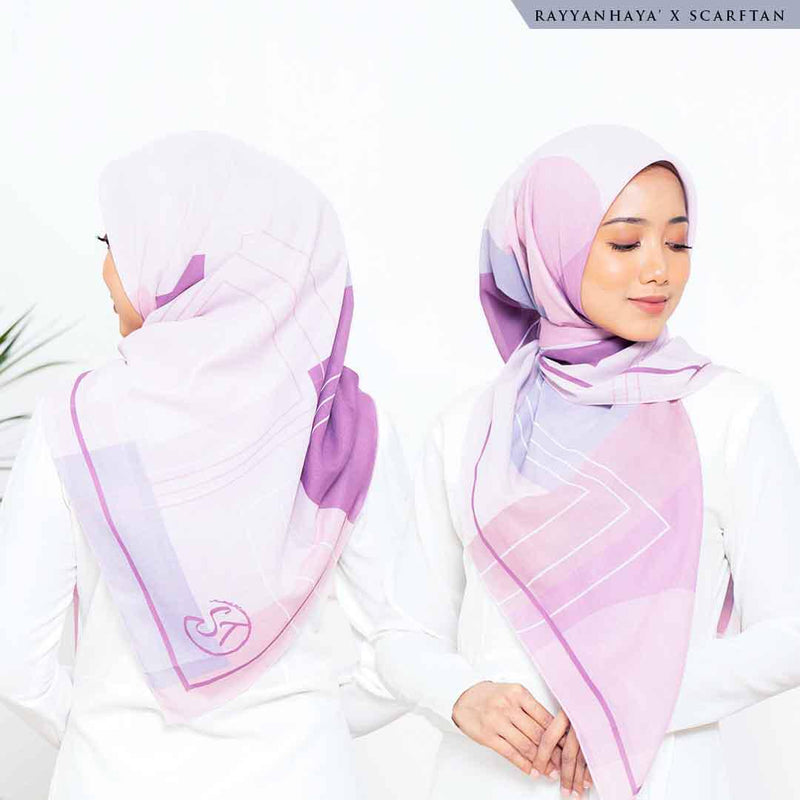 READY STOCK Bawal Aubrey 130cm (Blush)