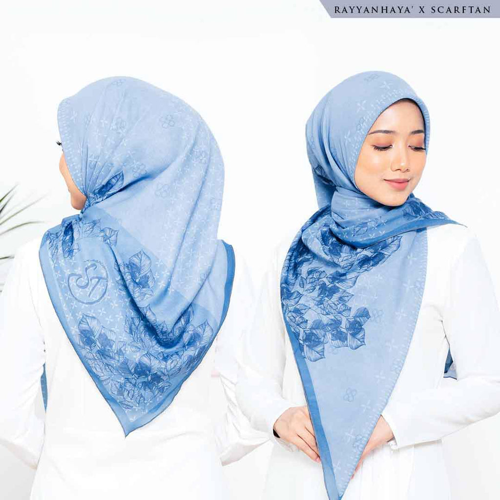 READY STOCK Bawal Laura 130cm (Sky Blue)