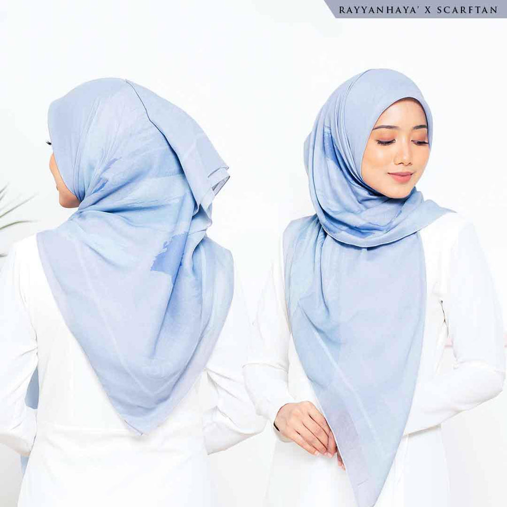 READY STOCK Bawal Leonna 130cm (Sky Blue)