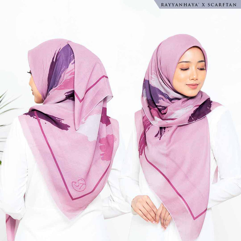 READY STOCK Bawal Leonna 130cm (Rose)