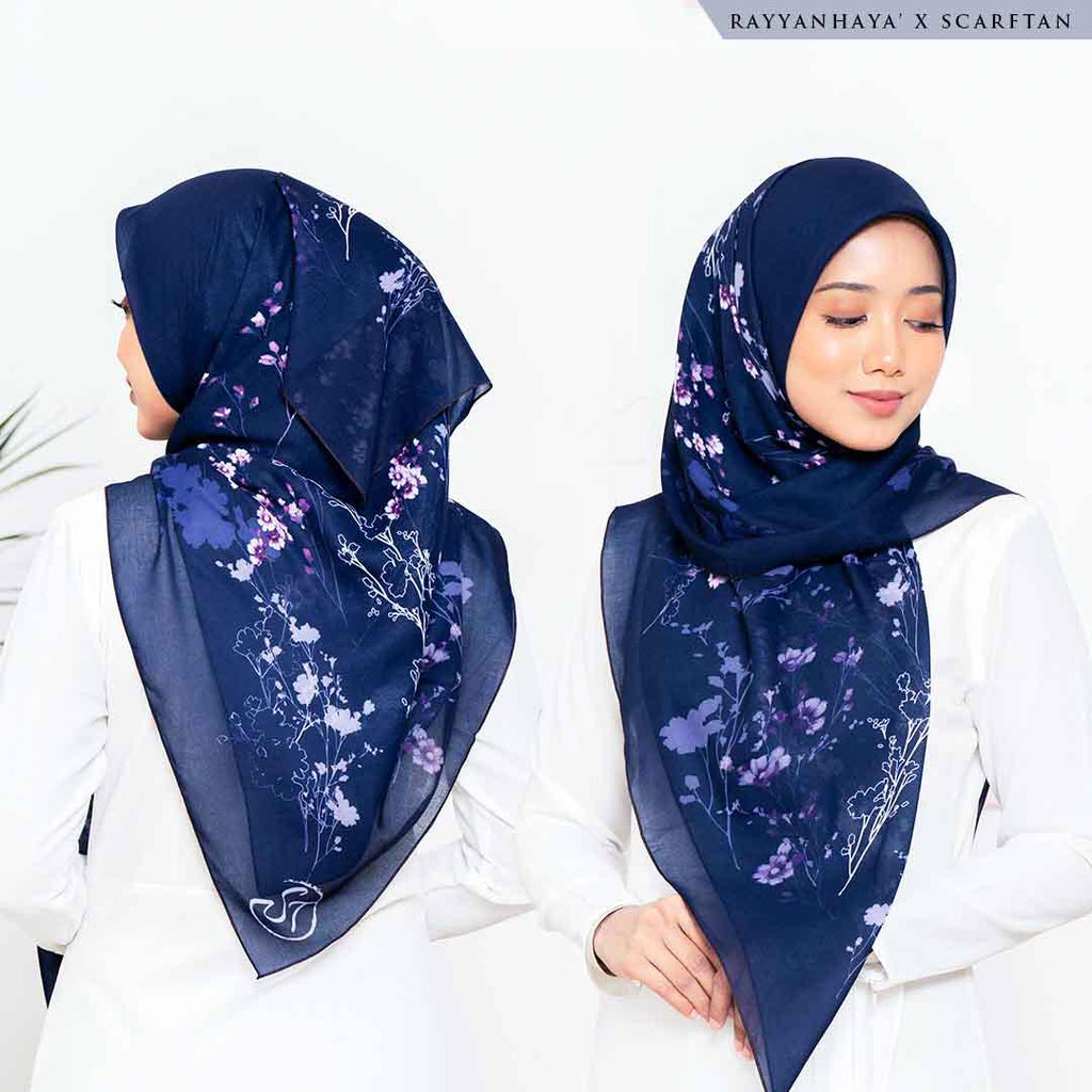 READY STOCK Bawal Lucynta 130cm (Navy)