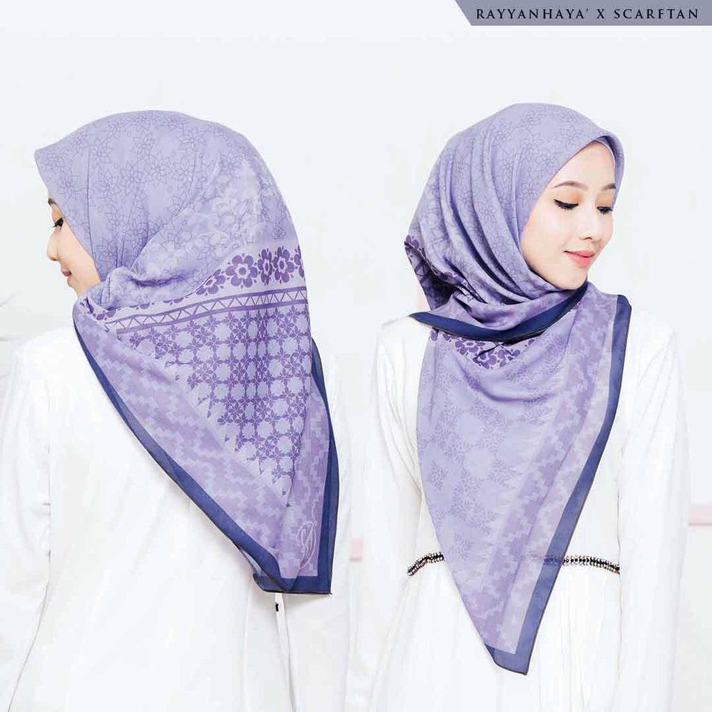 READY STOCK  Bawal Yasmin 130cm (Purple)